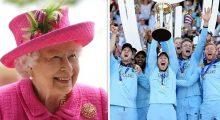 বিশ্বকাপ জয়ী ইংল্যান্ড দলকে রানির শুভেচ্ছা